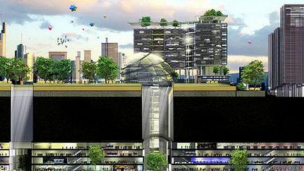 Ciudad subterránea para un futuro predecible