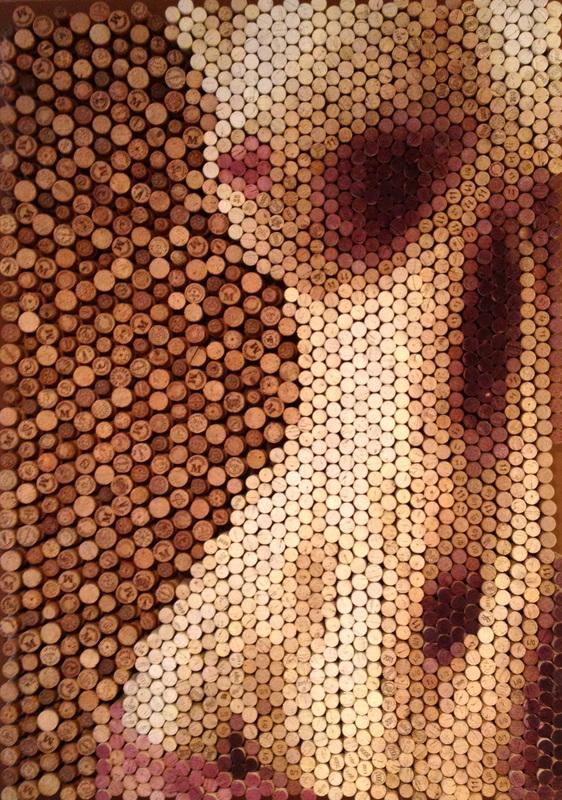 Arte con corchos